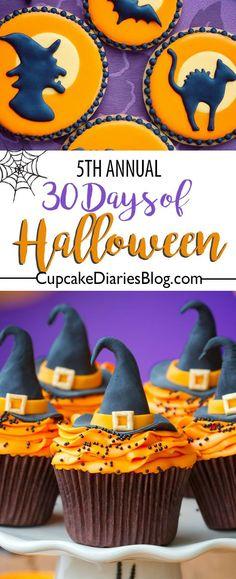 "Cupcake Diaries ""30 Days of Halloween"" 2017"