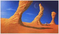 Digital sci fi art tutorial in photoshop: rock formations. Painted Rocks Kids, Shops, Rock Painting Ideas Easy, Photoshop, Alien Worlds, Digital Painting Tutorials, Rock Formations, Painting Videos, Sci Fi Art