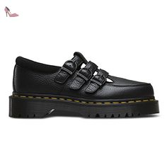 Dr.Martens Womens Martel Black Leather Shoes 37 EU QaUmtr