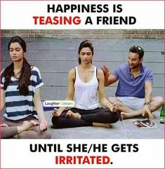 I do.I do.with my dear Anu I vil irritate her like a hel but she vil also Latest Funny Jokes, Some Funny Jokes, Crazy Funny Memes, Funny Relatable Memes, Crazy Girl Quotes, Funny Girl Quotes, Jokes Quotes, Qoutes, Pokerface