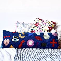 Punch needle pillow