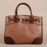 Dolce Leather Business Tote Bag With Gold Hardware