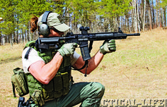 full review on the HULDRA ARMS MARK IV TACTICAL ELITE 5.56mm from the Special Weapons August issue