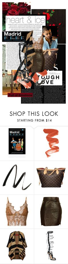 """""""EXPLAIN."""" by cocobuttah ❤ liked on Polyvore featuring Hun Rick Owens, 7 For All Mankind, Hedi Slimane, Jeffree Star, Benefit, Louis Vuitton, Ermanno Scervino, Katharine Hamnett, Burberry and Dsquared2"""