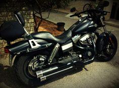 Mi moto. Harley-Davidson Fat Bob 2008 1.600 cc.
