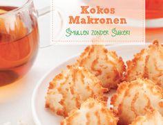 Smullen zonder Suiker.Vandaag recept 3: kokosmakronen gezoet met Agavesiroop