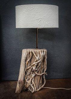 Driftwood Lamp.Drift Wood Table lampDriftwood Table lamp