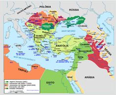 The Ottoman Empire to its greatest extent