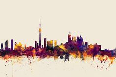 photograph toronto silhouette by peter fk on 500px pics pinterest toronto silhouettes and. Black Bedroom Furniture Sets. Home Design Ideas