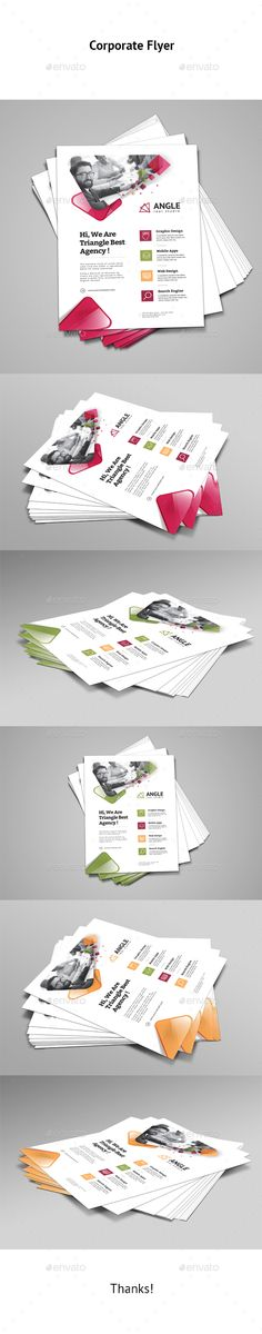 Corporate Flyer Template Vector EPS, AI Illustrator. Download here: https://graphicriver.net/item/corporate-flyer/17527265?ref=ksioks