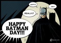 Imagen promocional BATMAN DAY