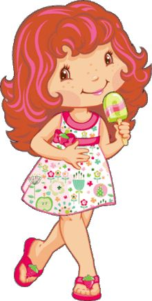 Fresita, Frutillitas, Strawberry Shortcake Strawberry Shortcake Characters, Strawberry Shortcake Party, Holly Hobbie, Art Wall Kids, Art For Kids, Mig E Meg, Phineas E Ferb, Hamtaro, Lilo E Stitch
