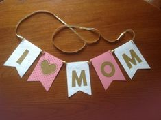 Gifts For Mom Cheap Dollar Stores 17 Ideas Happy Mothers Day Banner, Mothers Day Decor, Happy Mother S Day, Mothers Day Crafts, Mother's Day Banner, Picture Backdrops, Personalized Mother's Day Gifts, Topper, I Love Mom