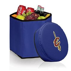 NBA Cleveland Cavaliers Bongo Insulated Collapsible Cooler by Picnic Time. NBA Cleveland Cavaliers Bongo Insulated Collapsible Cooler. One Size.