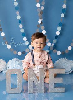 1st Birthday Photoshoot, Baby Boy 1st Birthday Party, 1st Birthday Cake Smash, Birthday Backdrop, 1st Birthday Pictures, Birthday Ideas, Boy Photo Shoot, Birthday Photography, Royce