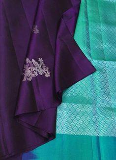 Indian Bridal Sarees, Bridal Silk Saree, Soft Silk Sarees, Saree Wedding, Wedding Saree Blouse Designs, Pattu Saree Blouse Designs, Fancy Blouse Designs, Kanjipuram Saree