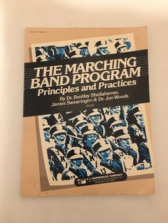 Marching Band Program Principles and Practices James Swearingen   | eBay