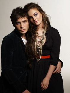 ELLE Korea September 2009 Ed Westwick and Leighton Meester