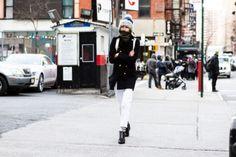 Street style from New York fashion week autumn/winter '16/'17: