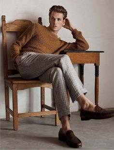 Hugo Sauzay is the Face of Massimo Dutti Spring Summer 2018 Collection