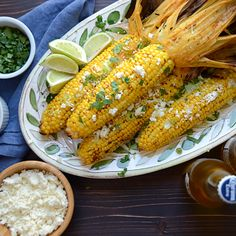 grilled chipotle lime corn Garlic + Zest