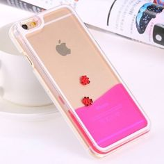 Special Dynamic Liquid Back Case For iPhone