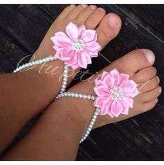 Baptism Baby barefoot sandals cross jewelrychristening gift