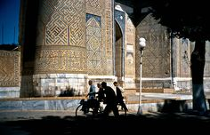 Samarkand on the silk road