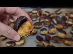 Κάντε κάστανα με αυτόν τον τρόπο! Είναι απίστευτα ΕΥΚΟΛΟ και ΔΙΚΑΙΩΜΑ! # 356 - YouTube Stuffed Mushrooms, Pork, Appetizers, Snacks, Meat, Vegetables, Cake, Youtube, Tips