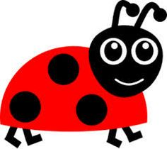 cartoon lady-bug