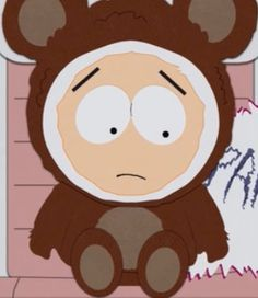 You've been a bad old bear Butters!