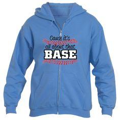 It's About That Base Heavy Blend™Fleece Zip Hoodie Underground Statements Raglan Tee, Muscle Tees, Zip Hoodie, Perfect Fit, Hooded Jacket, Base, Hoodies, T Shirt, Jackets