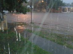 No circular por barrio El Molino los días de lluvia