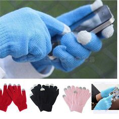 Unisex Smart Touch Screen Men Cotton Winter Gloves Women Smartphone Mobile Phone | eBay