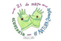 @Humorambiental de ECOvidrio y EFEverde con el #Natura2000day