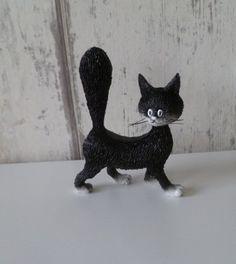 Dubout katten cutie Cat Statue, Dinosaur Stuffed Animal, Cats, Animals, Gatos, Animales, Animaux, Animal, Cat