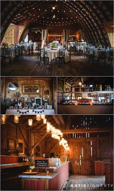Rustic refurbished barn wedding venue, Hayloft on the Arch decorated beautifully for this summer wedding. Photographed by Rochester, NY wedding photographer Katie Finnerty Photography | http://www.katiefinnertyphotography.com/blog/2015.8.10.hayloft-on-the-arch-wedding-ashley-chad