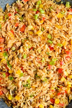 Slimming Eats Syn Free Savoury Rice - gluten free, dairy free, Slimming World and Weight Watchers friendly