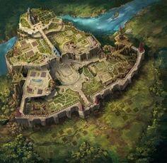 Landscape Ideas City Fantasy Art 26 Ideas For 2019 Fantasy City Map, Fantasy Town, Fantasy World Map, Fantasy Castle, Fantasy Places, Medieval Fantasy, Fantasy Hotel, Fantasy Concept Art, Fantasy Artwork