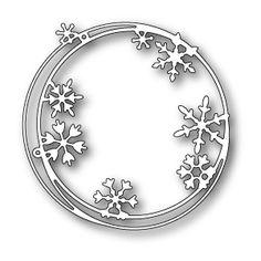 Memorybox - Snowflake Ring die