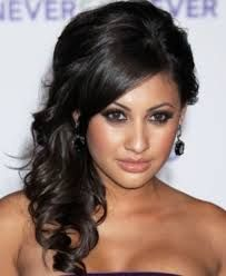What do you ladies think about this for bridesmaids hair?
