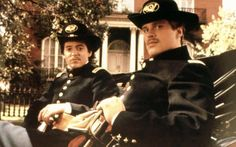 Matthew Broderick and Cary Elwes (Glory)