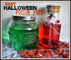 Sassy Style: DIY Halloween Party Ideas