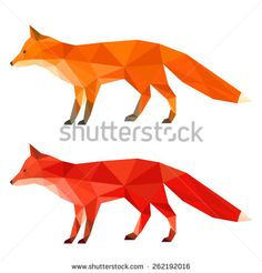 stock-vector-ginger-red-fox-abstract-polygonal-geometric-fox-triangle-fox-set-isolated-on-white-fox-side-262192016.jpg (JPEG Image, 450×470 pixels)