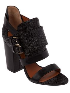 #GIVENCHY  OPEN TOE #SANDALS
