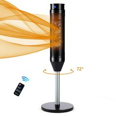 Our ceramic heater is equipped with ceramic heating element and high power which can be heated quickly in a few seconds. Also, PTC ceramics have flame retardant properties, so it is very safe. You can use this ceramic heater without any worries. $79