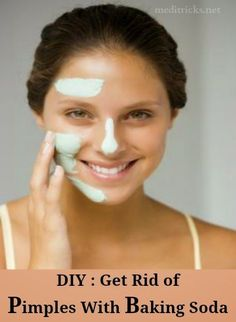 Get rid of Pimples with Baking Soda | Medi Tricks
