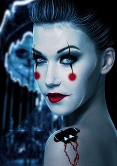 Halloween Makeup cute idea #pinandwin #wantablehalloween