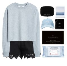 """""""J o"""" by credendovides ❤ liked on Polyvore featuring MANGO, First Aid Beauty, Illamasqua, Marc Jacobs and Erno Laszlo"""