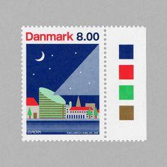 Astronomy, Europe. Denmark, 2009. Design: A2/SW/HK – Scott Williams / Henrik Kubel #mnh #mintneverhinged #mnh_dnk #postagestamps #denmark